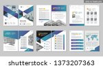 brochure creative design.... | Shutterstock .eps vector #1373207363