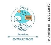 providers concept icon. primary ...   Shutterstock .eps vector #1373232560