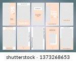 sale story template. easy edit... | Shutterstock .eps vector #1373268653
