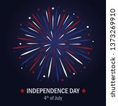 happy independence day usa... | Shutterstock .eps vector #1373269910