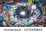 sale concept. top view to... | Shutterstock . vector #1373300843