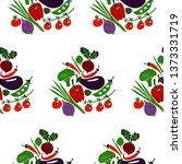 set of vegetables | Shutterstock .eps vector #1373331719
