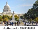 u.s. capitol building in...   Shutterstock . vector #1373339840