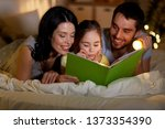 people and family concept  ... | Shutterstock . vector #1373354390