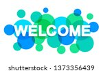 Welcome Word With Transparent...