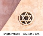 Star Of David Embedded In The...
