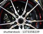close up car mag wheel... | Shutterstock . vector #1373358239