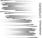 speed lines in arrow form .... | Shutterstock .eps vector #1373390393