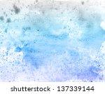 scenic watercolor background | Shutterstock . vector #137339144