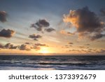 beautiful naturally seascape... | Shutterstock . vector #1373392679