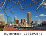 baltimore  md  usa march 26 ... | Shutterstock . vector #1373393546