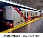 translink's vancouver skytrain. ...   Shutterstock . vector #1373435780