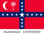 flag of south carolina is a... | Shutterstock .eps vector #1373452550