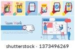 vector illustration of the... | Shutterstock .eps vector #1373496269