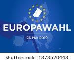 2019 european parliament... | Shutterstock .eps vector #1373520443
