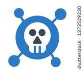 scull glyph double color | Shutterstock .eps vector #1373529230