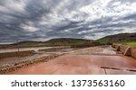 ancient salt exploitation of...   Shutterstock . vector #1373563160