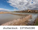 ancient salt exploitation of...   Shutterstock . vector #1373563280