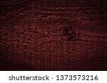 texture of dark burgundy old... | Shutterstock . vector #1373573216