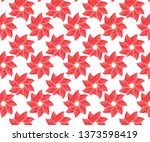 flower pattern for print... | Shutterstock .eps vector #1373598419