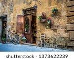 pienza  tuscany italy   27... | Shutterstock . vector #1373622239