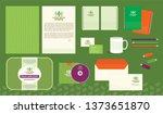 corporate branding identity set ... | Shutterstock .eps vector #1373651870