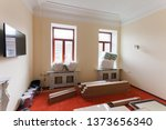 view on the room with vintage... | Shutterstock . vector #1373656340
