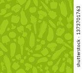 seamless pattern of vegetables... | Shutterstock .eps vector #1373701763