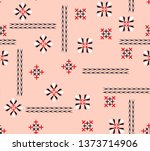 ethnic motifs pattern for dress ...   Shutterstock .eps vector #1373714906