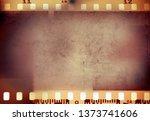 film negative frames background   Shutterstock . vector #1373741606