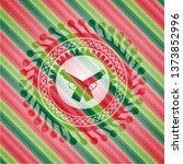 crossed pistols icon inside... | Shutterstock .eps vector #1373852996