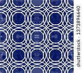 abstract blue and white modern... | Shutterstock .eps vector #1373896640