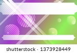 background with lines  circle.... | Shutterstock .eps vector #1373928449