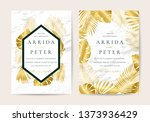 wedding invitation thank you... | Shutterstock .eps vector #1373936429