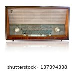 old radio | Shutterstock . vector #137394338