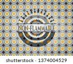 non flammable arabic style... | Shutterstock .eps vector #1374004529