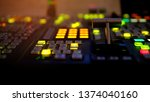 blur image video switch of... | Shutterstock . vector #1374040160