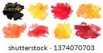 vector watercolor background....   Shutterstock .eps vector #1374070703