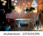 milan italy 04.13.2019  ... | Shutterstock . vector #1374231590