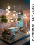 milan italy 04.13.2019  ... | Shutterstock . vector #1374231593