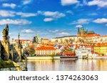 View Of Charles Bridge  Prague...