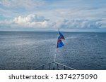 27 october 2015. lake kivu....   Shutterstock . vector #1374275090