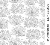 abstract seamless pattern of... | Shutterstock .eps vector #1374321509