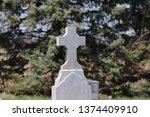 Top Cross On Stone Pillar
