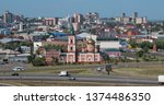 barnaul russia  aug 25  2018 ... | Shutterstock . vector #1374486350
