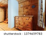 commode as interior in... | Shutterstock . vector #1374659783