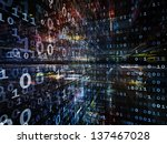digital perspectives series.... | Shutterstock . vector #137467028