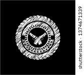 crossed pistols icon inside... | Shutterstock .eps vector #1374671339