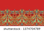 printable digital and textile...   Shutterstock . vector #1374704789