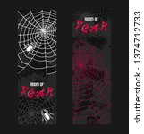 web spider pattern vector... | Shutterstock .eps vector #1374712733